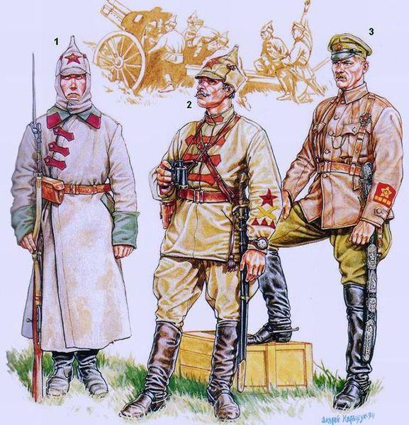 Спецодежда красной армии