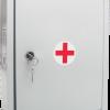Аптечка универсальная (до 30 человек) металлический шкаф