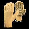 Перчатки трикотажные из арамидной нити Кевлар, с хлопковой подкладкой с ПВХ