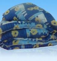 Одеяло ватное полутороспальное полистер