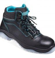Ботинки кожаные «Юнигард» с металлическим подноском