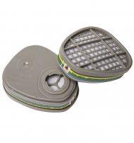 6541 Фильтр противогазовый Jeta Safety для защиты от органических, неорганических, кислых газов и аммиака класса A1E1B1K1