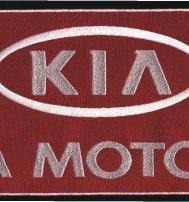 """Логотип KIA, шеврон большой (""""КИА Моторс""""наспинный)"""