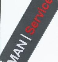 Логотип MAN шеврон наспинный
