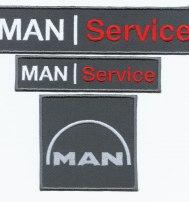 Логотип MAN шеврон нагрудный