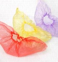 Бахилы одноразовые (цветные) 30 мкр