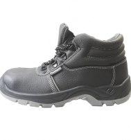 Ботинки мужские летние с металлоподноском и металлической стелькой (ПУ-ПУ)
