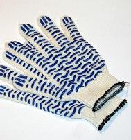 Перчатки х/б с ПВХ (Волна) 10 класс  СТАНДАРТ
