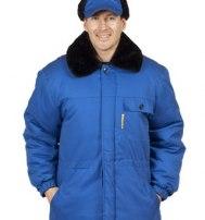 Куртка рабочая утепленная (Эксперт) василек
