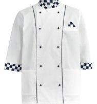 Куртка поварская комбинированная клетка
