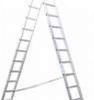 Лестница универсальная двухсекционная KRW 2х9