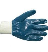 Перчатки нитриловые полное покрытие, манжет