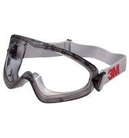 Очки закрытые 3М 2890А из ацетата с непр.вент, прозрачные, AF