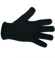 Перчатки полушерстяные (одинарная вязка)