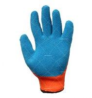 Перчатки акриловые с рельефным покрытием из натурального латекса (-30 С)