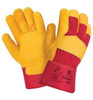 Перчатки кожаные комбинированные Siberia (Премиум класса)
