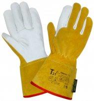 Перчатки (краги) кожаные Siberia для TIG сварки (300-305 мм)