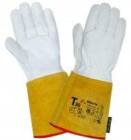 Перчатки (краги) кожаные Siberia для TIG сварки (350-370 мм)