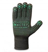 Перчатки нейлоновые с ПВХ «Мастер» Премиум класса
