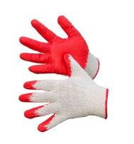 Перчатки с латексным покрытием (одинарным)