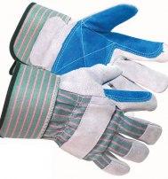 Перчатки спилковые комбинированные усиленные (ДОКЕР)