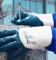 Перчатки ТЕХНИК КЧ (TN-02) крага частичное покрытие