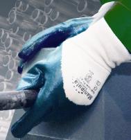 Перчатки ТЕХНИК РЧ (TN-04) манжет, частичное покрытие