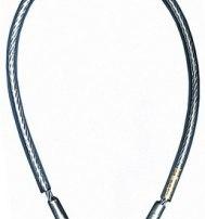 Петля крепежная длина 1м, сталь в пластиковой оплетке SZA420