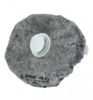 Полумаска фильтрующая (респиратор) Алина-АВ с клапаном выдоха