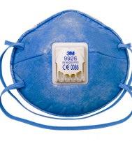 Противоаэрозольный респиратор 3М 9926, 2-й степени защиты с дополнительной защит