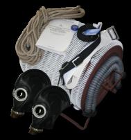 Противогаз шланговый ПШ-20ЭРВ (2 маски)