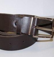 Ремень офицерский кожаный (черный)