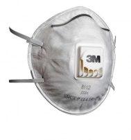 Респиратор для защиты от пыли и туманов 3М 8112 с клапаном выдоха, 1-й степени з