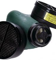Респиратор газозащитный РПГ-67 с фильтром марки К1
