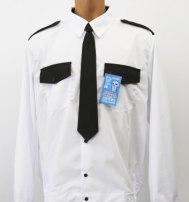 Рубашка охранника на поясе, белая