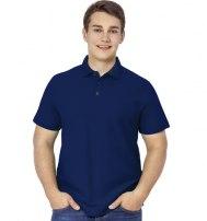 Рубашка поло мужская на трех пуговицах