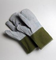 Рукавицы-перчатки кожаные брез/м