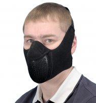 Тепловая маска «Полумаска» с двумя креплениями