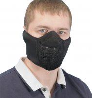 Тепловая маска «Полумаска» с широким креплением
