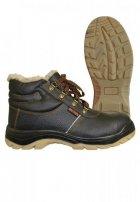 Ботинки рабочие зимние «Mistral Plus» ПУ-ТПУ c МП и МС (искусственный мех)