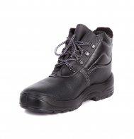 """Ботинки рабочие зимние """"Вектор"""" (натуральный мех) металлический подносок"""