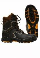 Ботинки с высоким берцем «Mistral Perfect» кожаные ПУ-Нитрил c поликарбонатным подноском и металлической стелькой