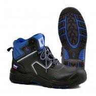 """Ботинки высокие """"Scorpion Trackbot"""" кожаные ПУ-Нитрил с поликарбонатным подноском"""