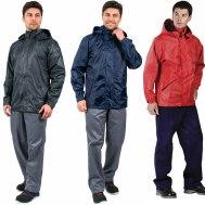 Куртка-ветровка (цв.: Серый, Синий, Красный)