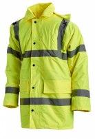 """Куртка влагозащитная """"Высота"""" (3 класс; цв. оранжевый и лимонный)"""