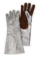 Перчатки сталевара из металлизированной ткани (со внутренней подкладкой)