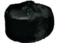 Шапка меховая (овчина) с кожаным верхом