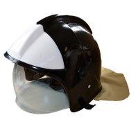 Шлем каска ШКПС (белый/черный)