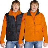 Жилет мужской двусторонний курточного типа