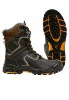 Зимние ботинки с высоким берцем «Mistral Perfect» ПУ-Нитрил c поликарбонатным подноском и металлической стелькой (натуральный мех)